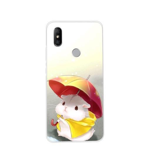 Patts gélový obal na mobil Xiaomi Redmi S2 - škrečok s dáždnikom ... a31e5902fc9
