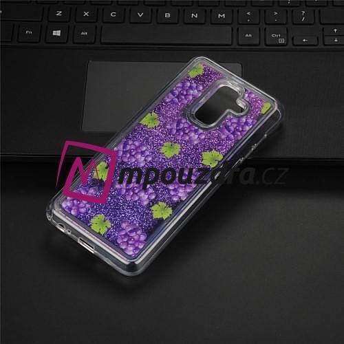 8678a104d Glitter presýpací gélový kryt na mobil Samsung Galaxy A6 (2018) - hrozno - 3